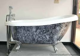 painted clawfoot tub refinish