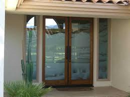 glass front doors