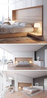 One Bedroom Interior Design Bedroom Design Idea Combine Your Bed And Side Table Into One