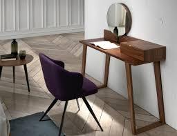 Modern Porto Lujo Walnut Veneer Dressing Table