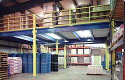 Image result for mezzanine and storage