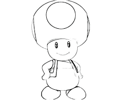 Mario Toad Coloring Pages Innovative Toad Coloring Pages Kids Boys