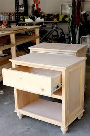how to build bedroom furniture. Bedroom Nightstand Ideas 15 Furniture How To Build Diy