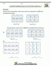 Multipicturearrayscirclenumber Multiplication Worksheetss 4th ...