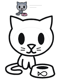 Kitty Cat Coloring Pages 2 Colorings World