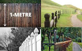 what is the maximum fence height for uk