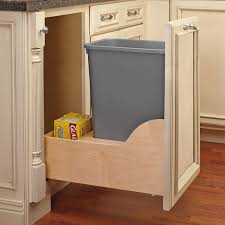 pullout trash can. Simple Trash 10 Gallon Pullout Trash Can In E