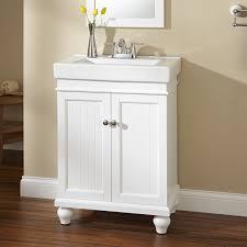 White Bathroom Vanity Cabinet 24 Lander Vanity White Bathroom