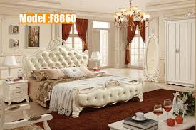 Free Shipping Hot Sale Modern Bedroom Furniture Design Girls Leather TWO  BEDS With Solid Wood Frame Set For Hotel Online In Bedroom Sets From  Furniture On ...