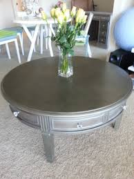 coffee unique round table marble as spray diy painted
