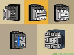how to wire a contactor 8 steps pictures wikihow image titled wire a contactor step 3