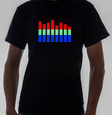 Light Up Shirts Interactive Apparel Light Up And Stand Out From The Crowd