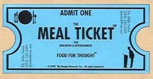Free Meal Ticket Template Enchanting Meal Ticket Template Arch Sample Photo Gallery Website Meal Ticket