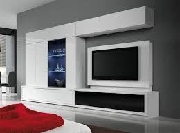 modern living room wall