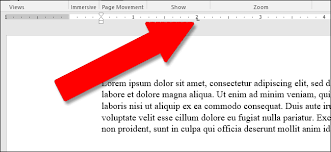type of tab how to use rulers in microsoft word