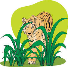 Image result for green tiger clipart