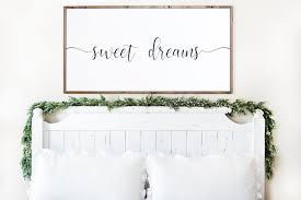 bedroom sign bedroom decor master