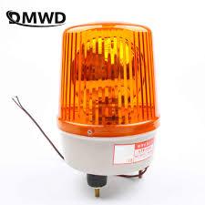 Small Rotating Beacon Light Ac110v 220v 380v Engineering Signals Warning Alarm Rotating