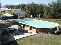 Terrasse Piscine Semi Enterree Home Sweet Home Pinterest