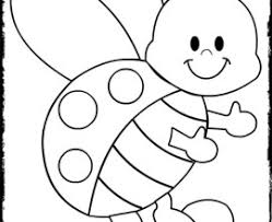 Small Picture Cute Bug Coloring Pages Cute Bug Coloring Pages Cute Ladybug