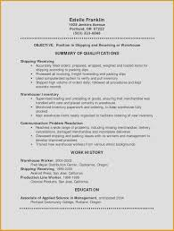 Over Letter Project Manager Refrence Warehouse Manager Resume