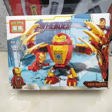 Lắp ráp xếp hình Lego Siêu anh hùng NO.6022(4 mẫu quý khách chat chọn mẫu).