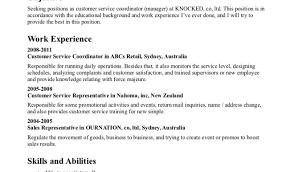 Resume Templates Customer Service Resume Modern