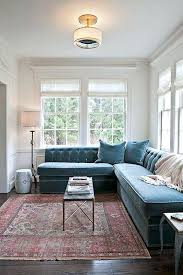 how to place a rug under a sectional sofa new colors of home inspiration rugs for how to place