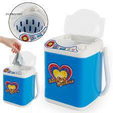Máy giặt đồ chơi mini đa chức năng kèm bộ phụ kiện