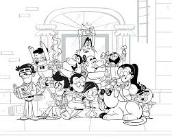 Loud House Coloring Pages To Print Bltidm
