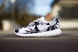 nike running shoes black and white. black and white nike shoes running floral palm tree print sports