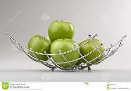 modern style fruit basket royalty free stock photography  image