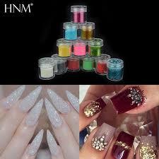 hnm nail glitter powder sticker nail art decoration dip powder gem polishing nails diy acrylic uv glitter acrylic nail glitter nail printer from ruhui