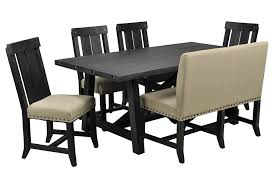 Living Spaces Dining Table Set Dining Chairs