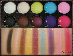 beauty uk eye shadow collection no 6 day night eyeshadow palette