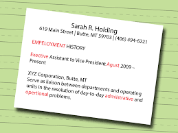 how to make a resume sample resumes wikihow