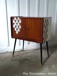 mid century record cabinet. Mid Century Record Cabinet Side Table Door Modern Player . A