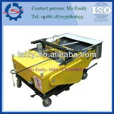 plc automatic wall rendering machine cement sand plaster machine auto painting machine 0086 18703680693
