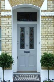 grey front door grey exterior doors gorgeous front door ideas stained glass grey composite front door