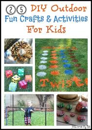homemade outdoor games for kids. 25 DIY OUTDOOR FUN CRAFTS \u0026 ACTIVITIES FOR KIDS Homemade Outdoor Games For Kids R