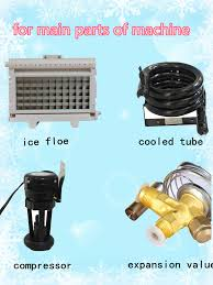 Cube Ice Maker Ice Makers For Hot Sale Used Ice Merchandiser Used Industrial Air