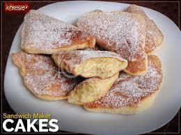 A mandazi if a form of fried dough that originated in east africa. Sandwich Maker Cakes Fauzia S Kitchen Fun