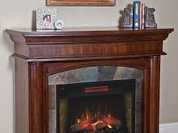 3 aspen infrared electric fireplace mantel package in meridian cherry 3