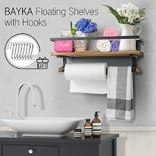 bayka floating shelf wall mounted