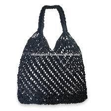 Buy Cheap Designer Bags New Style Macrame Cotton Handbags Crochet Designer Handbags Grocery Bags Buy Cheap Designer Handbags Ladies Designer Macrame Handbags Oem Designer