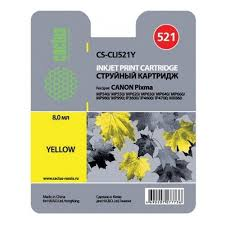<b>Картридж</b> струйный <b>Cactus CS</b>-<b>CLI521Y</b> желтый для Canon ...