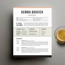 creative resume template and cover letter by suitedbrandlabcreative resume template and cover letter template for word   digital instant download   diy printable