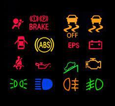 volkswagen golf dashboard lights toms