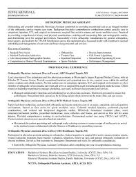 Physician Assistant Resume Sample - Resume Ideas
