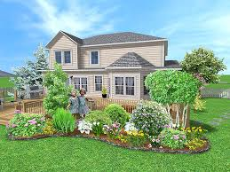 Small Picture Landscaping Plans Free Easy Landscaping Plans with Images